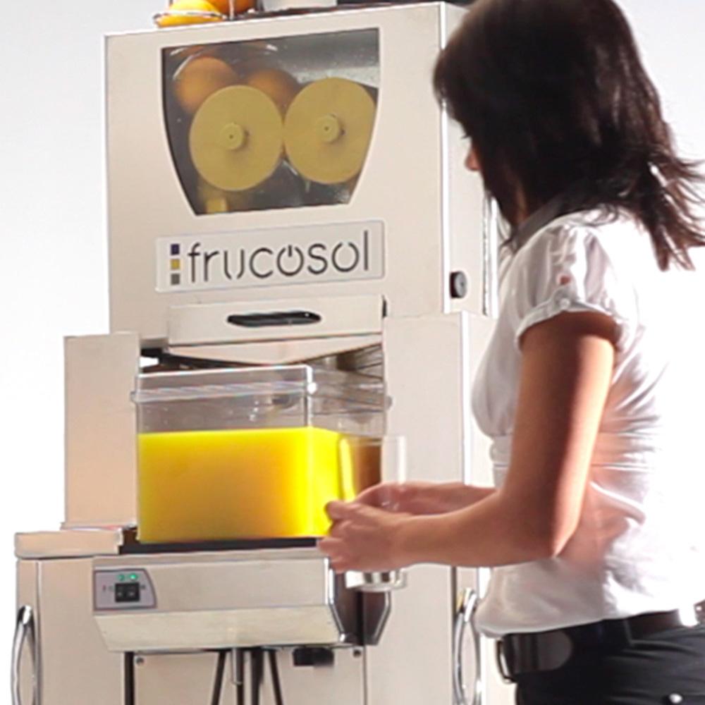 Frucosol Self Service Juicer Freezer